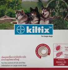 Kiltix Dog Collar size L Tick Flea neckless 5 months control Large Bayer