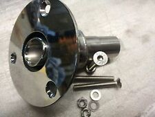 skin fitting 24mm for webasto heaters stainless steel polished eberspacher d2 d4