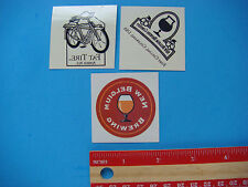 3 Beer Temporary Tattoos ~ New Belgium Brewery Fat Tire, COLORADO ~ Body Sticker