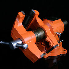 "Pony 5"" Multi-Purpose 5-In Heavy Duty Rotating Pipe-Swivel Base Bench Vise-New"