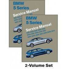 BMW 5 Series Service Manual 2004-2010 (E60, E61) New 2 Volume Set book paper