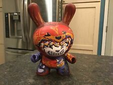 "Kidrobot 8"" Dunny Ilovedust Dunnibal Orange Chase Vinyl art Figure I Love Dust"