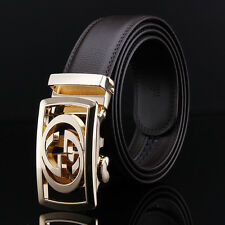 Men's Belts Automatic Buckle Belt Brown Fashion Genuine Leather belts waistband