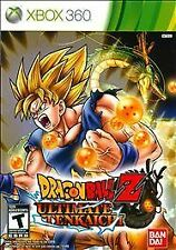 "XBOX 360 Game: Dragon Ball Z ""Ultimate Tenkaichi""- 2011"