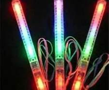 12 pcs Multi Color Flashing LED Light Up Glow Wand Stick Party Bag Filler Gifts