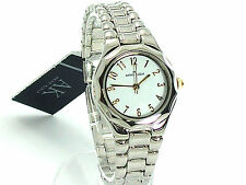 ANNE KLEIN Ladies Watch 8063WTTT Stainless Steel Bracelet Authentic Retail $55