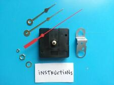 SHORT Shaft Clock Kit! Battery Quartz Movement -w/Hands! Free Shipping! (982C-B)