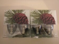 Bath & Body Works Wallflowers Lot of 4 Plug In Refills FRESH BALSAM