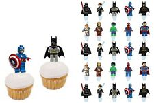 25 Personnage stand up Lego City Gateau Disque Azyme Comestible Anniversaire