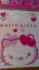 1 Pack Of 6 Hello Kitty Theme Party Bags White