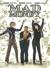 Mad Money ~ Katie Holmes Queen Latifah ~ DVD with Slip Cover ~ FREE Shipping USA
