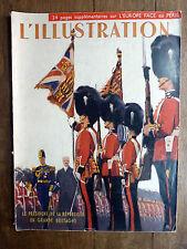 L'ILLUSTRATION N° 5013 - 1er avril 1939 - LE PRÉSIDENT LEBRUN EN GRANDE-BRETAGNE