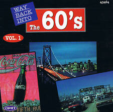 "WAY BACK INTO THE 60's ""Vol. 1"" Top Oldies CD 16 Tracks NEU & OVP"