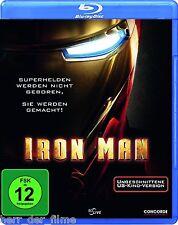 IRON MAN (Uncut US-Kino-Version) Blu-ray Disc NEU+OVP