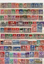 Lot Schweiz o aus  1882 - 1937  ( Nr. 50 - 311 )  KW 264,--  ( 30666 )