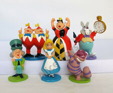Alice in Wonderland Figure Figurines 5-7cm Toy Gift Set of 6pcs cake topper UK