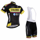 Mens Team Road Cycling mountain Short Sleeve Jersey and bib Shorts Set