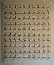 1973 ITALIA 25 lire Alessandro Manzoni foglio intero MNH**