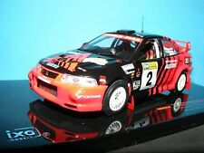 Mitsubishi  Lancer EVO IV # 2  Ralliart  a 1:43RD Scale IXO Model Rally Car