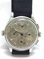 Extremely rare Universal Geneve Aero Compax ref. 22414 Real Pilots Military