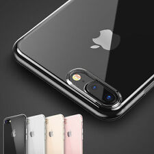 Ultra Thin Slim TPU Gel Skin Cover Case Pouch for Apple iPhone 5 5S 6 6s 7 Plus