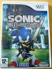 SONIC AND THE BLACK KNIGHT GAME FOR NINTENDO WII