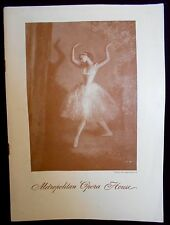 'BALLET THEATRE' C:1946 PROGRAM-S. HUROK PRESENTS 1946-AMAZING DANCERS & HISTORY