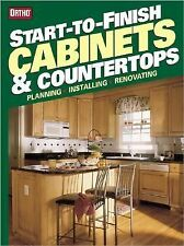 Start-to-Finish Cabinets & Countertops (Ortho's All about)-ExLibrary