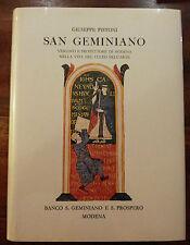 Giuseppe Pistoni - San Geminiano Vescovo e protettore di Modena - 1983