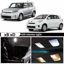 8x White LED Interior Lights Package Kit for 2008 - 2015 Scion xB xD + TOOL