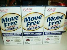 3X Schiff Move Free Ultra Omega, 90 Softgels BETTER JOINT COMFORT OMEGA-3s N/R