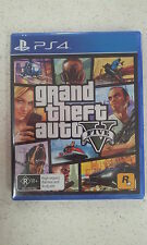 Grand Theft Auto V GTA V 5 Sony PS4 Game Brand New