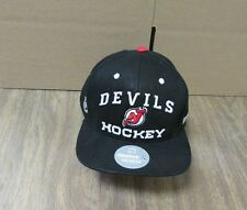 NEW NHL NEW JERSEY DEVILS  MEN'S  EMBROIDERED REEBOK ADJUSTABLE CAP HAT OSFA
