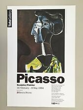 PABLO PICASSO,LARGE PROFILE, EXHIBITION PRINT 1994 TATE GALLERY