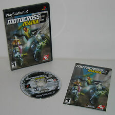 PlayStation 2 Motocross Mania 3 Tested Works Great PS2 - COMPLETE