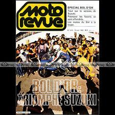 MOTO REVUE N°2476 YAMAHA 1000 TR1 XV 750 YZ 125 DT 80 SR 400 GROSS BOL OR 1980
