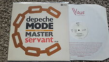 Depeche Mode - Master and servant 12'' Disco Vinyl FRANCE