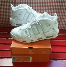2006 Nike Air More Uptempo All White Pippen Men's Size 11.5 VNDS Rare W/Box