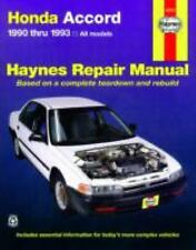 Haynes Manuals: Honda Accord, 1990-1993 by John Haynes and Mike Stubblefield...