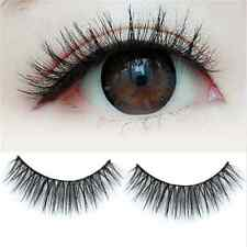 100% Real Mink Long Black Natural Thick Makeup Eye Lashes False Eyelashes New