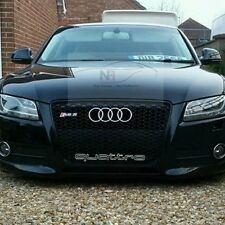 2007-2012 AUDI A5 S5 TO RS5 FRONT GRILL BLACK EDITION *** UK STOCK **
