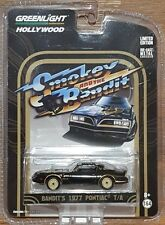 GREENLIGHT Hollywood series 10 - SMOKEY AND THE BANDIT - 1977 Pontiac T/A - 1:64