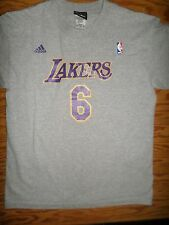 LOS ANGELES LAKERS CAT MAN ADIDAS T-SHIRT YOUTH XL