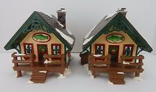 Dept 56 The Original Snow Village Fisherman's Nook Cabins #54615 Has light cord