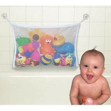 UK Clippasafe Baby Child Kid Bath Toy Bag Net Storage Bathroom Suction Organizer