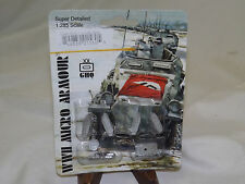 WWII Micro Armour GHQ War Games 1/285 Scale G-560 Pz III L w/ side skirts
