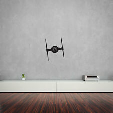 Imperial Ti-Fighter Vinyl Wall Art Decal for Home Decor / Interior Design / B...