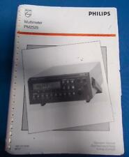 PHILIPS MULTIMETER PM2525 TEST & MEASUREMENT CUSTOMER SUPPORT OPERATION MANUAL