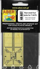 Aber Soviey T-34/76 Rear Small Fuel Tanks 1/48th For Tamiya Kit 48A07