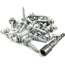 200 x 25mm CORRUGATED TIMBER TEK TEC ROOFING SCREWS, ALL LENGTHS - SELF DRILLING